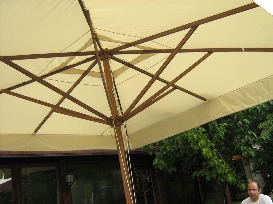 AHSAP-365-semsiye ahşap şemsiye